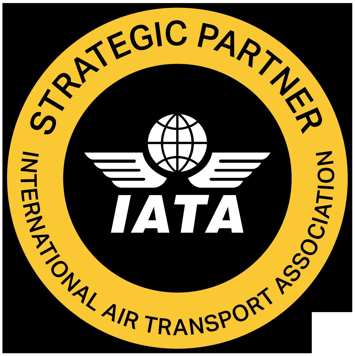 IATA Strategic Partner stamp