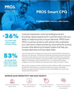 Smart CPQ product guide