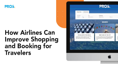 Airline e-Commerce - improve shopping and booking for travelers with PROS Retail screenshot