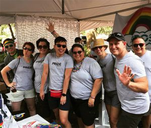 PROS Pride group photo