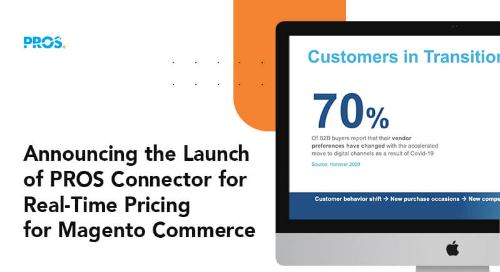 PROS Connector for Real-Time Pricing for Magento Commerce screenshot