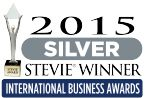 2015 Silver StevieWinner International Business Awards