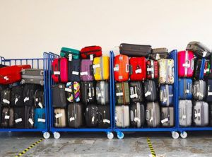 Group luggages