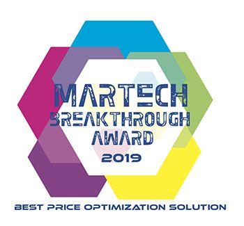 Martech Breakthrough Award 2019 badge