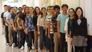 Interns at PROS group photo