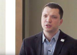 Alexey Dokuchaev talking