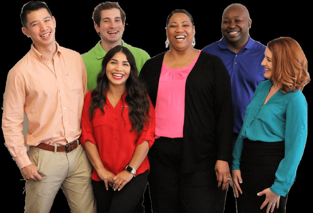 PROS employees group photo