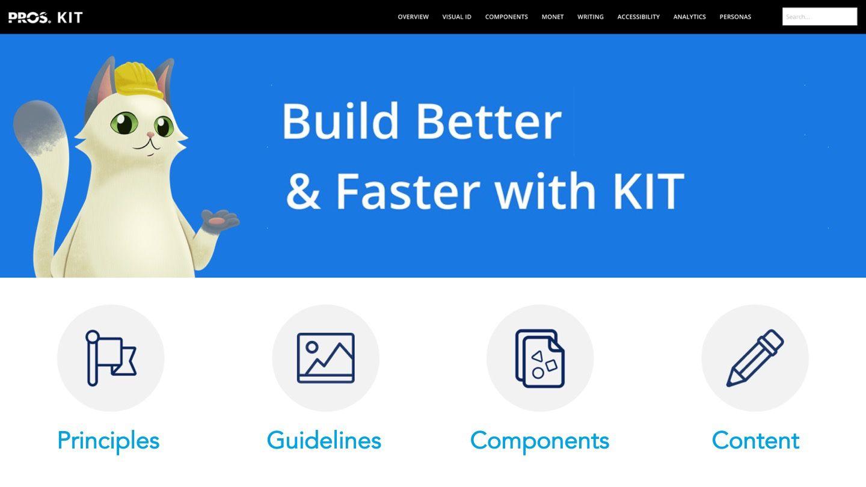 PROS KIT Design System