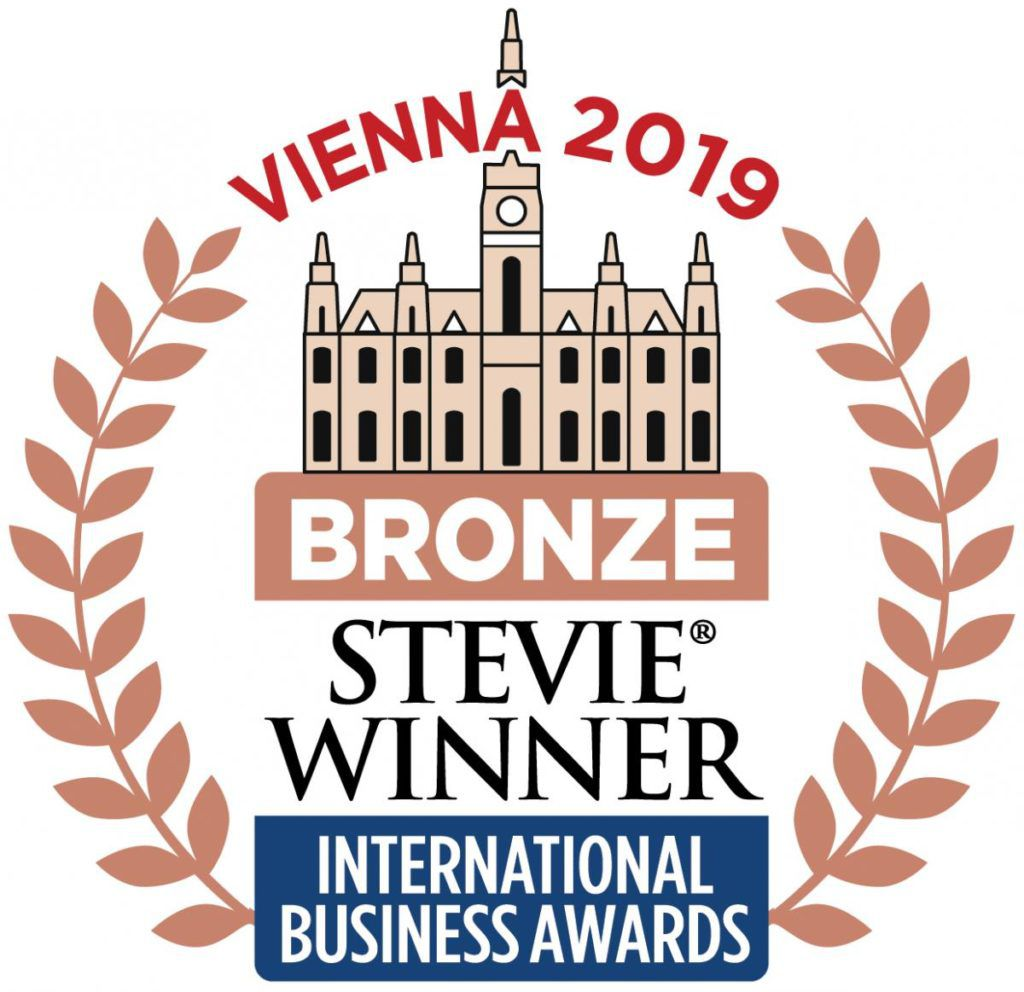 2019 Bronze Stevie Winner International Business Awards