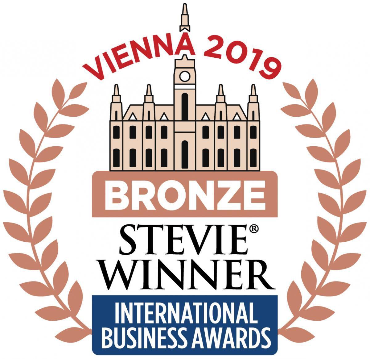 2019 Bronze Stevie Winner International Business Awards
