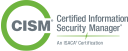 Certified Information Security Manager logo