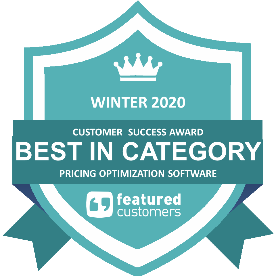 Market Leader Award for Pricing Optimization Software