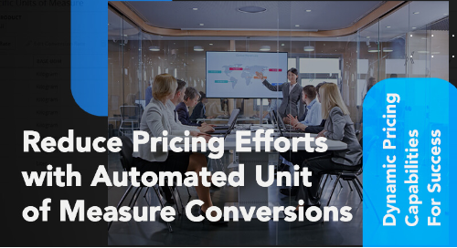 Dynamic pricing capabilities thumbnail image for PROS Unit of Measure Conversions video