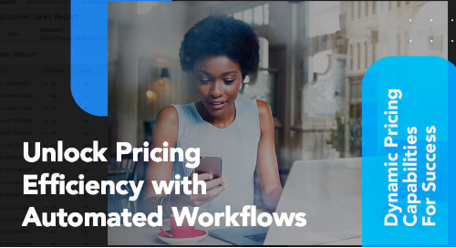 Dynamic pricing capabilities thumbnail image for PROS Automated Pricing Workflows video