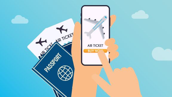Airline distribution blog post thumbnail image with passport, airplane tickets and a mobile device