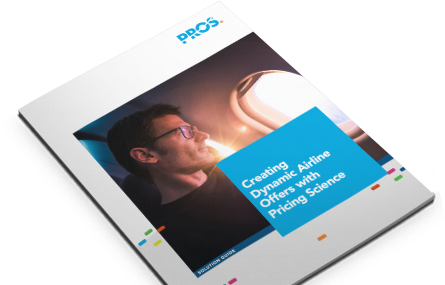 Cover image for PROS dynamic airline offers brief