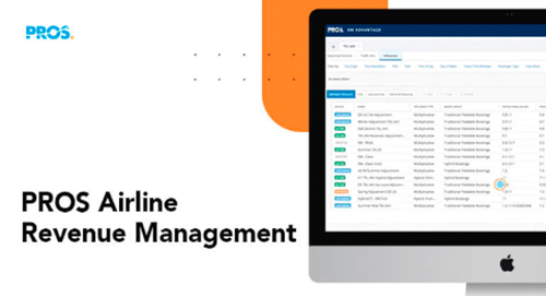 Thumbnail image with PROS Airline Revenue Management software screenshot
