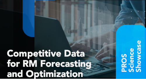 PROS Science Showcase thumbnail image - competitive data for revenue management forecasting and optimization