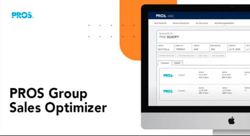 Thumbnail image with PROS Group sales Optimizer (GSO) software screenshot