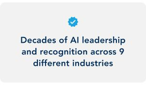 Decades of AI leadership fact image