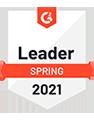 G2 Spring 2021 Leader badge