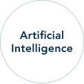 Artificial Intelligence circle text image