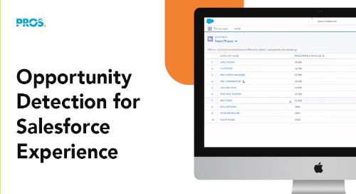 PROS Opportunity Detection for Salesforce Experience video thumbnail